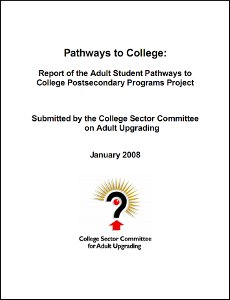 college report cover page